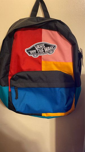 "Vans ""off the wall"" book bag for Sale in Greensboro, NC"