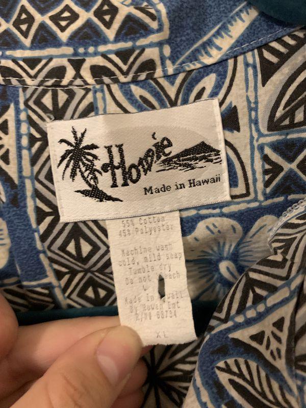 Howie Vintage Hawaiian shirt XL