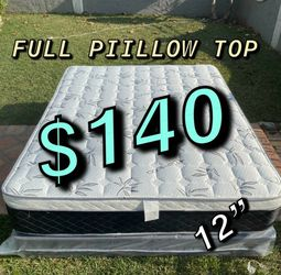 ‼️FREE DELIVERY💥 ‼️‼️🚚🚚 ✅✅ BRAND NEW PILLOW TOP MATTRESSES 💯COLCHONES NUEVOS PILLOW TOP 💯 TWIN $120 ❌ $160 With Box Spring💥 QUEEN MATTRESS for Sale in Whittier,  CA