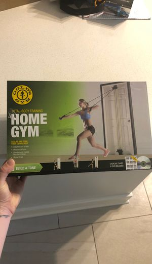 At home gym set for Sale in Fort Lauderdale, FL