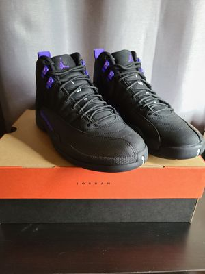 Jordan 12 retro Black Dark Concord size 9.5 for Sale in Los Angeles, CA