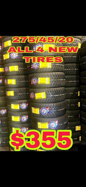 275 45 20 BRAND NEW SET OF TIRES for Sale in Mesa, AZ