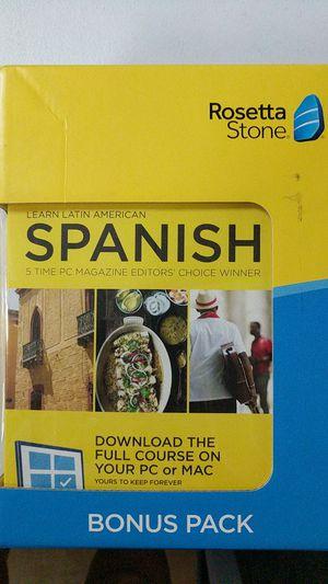 Rosetta Stone - Learn Spanish for Sale in Fort Lauderdale, FL