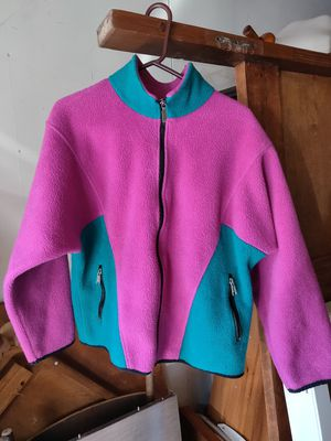 THE NORTH FACE Womens Size Large Windy Pass Vintage Warm Pink Zip Up Jacket for Sale in Los Angeles, CA