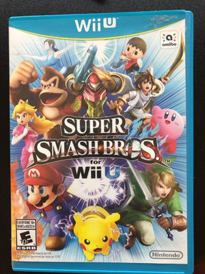 Super Smash Bros. For Wii U for Sale in Seattle, WA