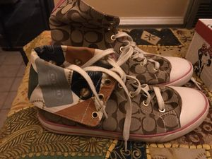 Coach high tops size 10 for Sale in Brentwood, TN