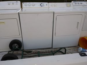 2019 almost like new beautiful work perfect your choice washer or dryer 50 bucks for Sale in Grand Prairie, TX