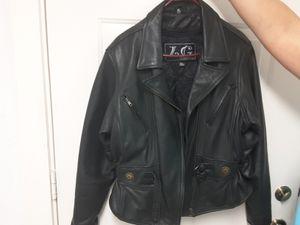 XL WOMEN LEATHER JACKET for Sale in Lakeland, FL