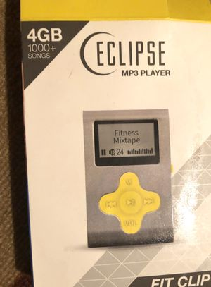 ECLIPSE MP3 Player 4GB 1000+ songs FIT CLIP for Sale in Philadelphia, PA