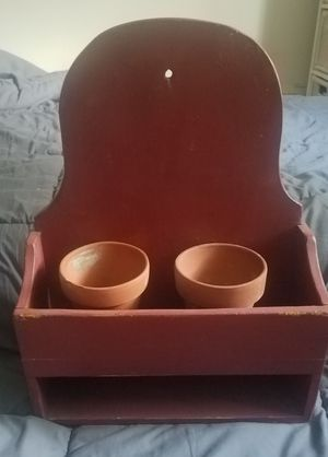 Indoor/Outdoor Planter Box with Additional Storage for Sale in Cranford, NJ