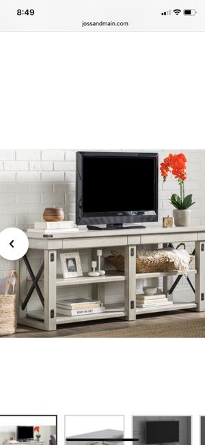 Media Console | TV Stand | Table - BRAND NEW IN BOX for Sale in SeaTac, WA