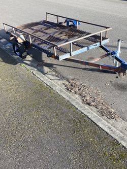 4x8.5 Tilt bed Golf Cart trailer for Sale in Pacific,  WA