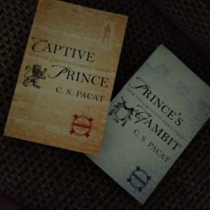 Captive Prince Book One And Two By C.S PACAT. for Sale in Salinas, CA