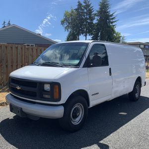 2002 Chevy Express 3500 for Sale in University Place, WA