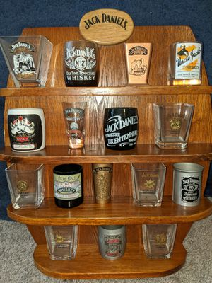 Jack Daniels shot glass collection for Sale in Temecula, CA