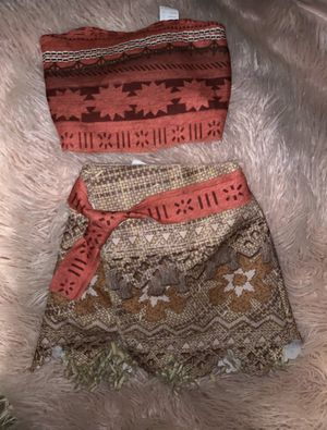 Moana Disney Costume size 4t-6t for Sale in Newhall, CA