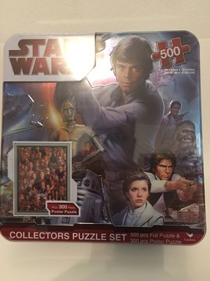 Star Wars collectors puzzle for Sale in Kent, OH