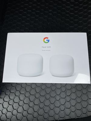 Google Nest WiFi (Router + Point) for Sale in Oakland, CA