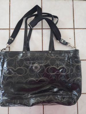 Coach leather diaper bag/tote for Sale in Long Beach, CA