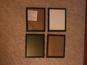 Picture frames - 4 matching for Sale in Lakeville, MN