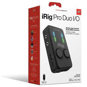 iRig Pro Duo I/O Audio Interface ( new ). for Sale in Jersey City, NJ