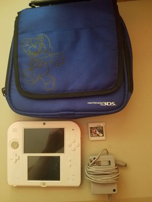 2DS w/ charger, Luigi's Mansion game, and bag for Sale in Corvallis, OR