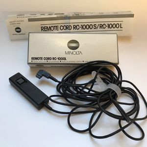 RC-1000L Minolta remote cord for Sale in Bothell, WA