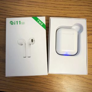 i11 Bluetooth Headphones w auto-charging box for Sale in Houston, TX