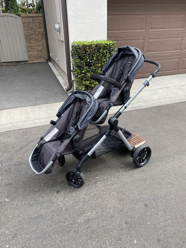 Evenflo Xpand Double Stroller and Car Seat