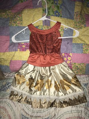 1-3t Moana costume $10 for Sale in Largo, FL