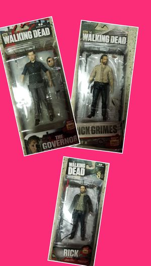 NEW IN BOX WALKING DEAD FIGURINES for Sale in Tacoma, WA