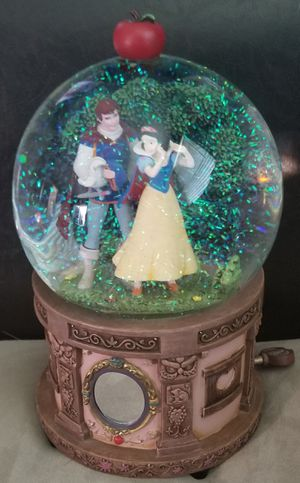 Disney Snow White and Prince Musical Snowglobe Apple for Sale in Spring Valley, CA