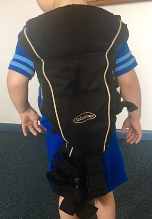 Black Infantino Easy Rider Baby Carrier for Sale in Lancaster, OH