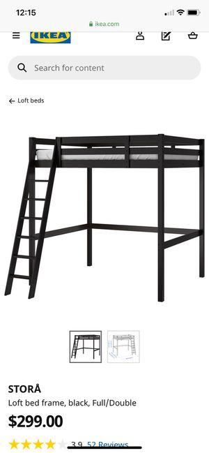 Loft bed frame for Sale in Fishers, IN