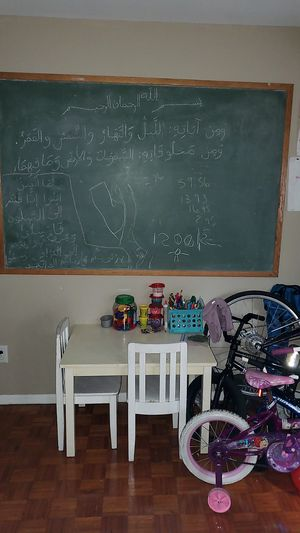 Huge wooden chalk board for Sale in Durham, NC
