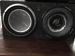 Punch M.A Audio speakers for Sale in Providence, RI