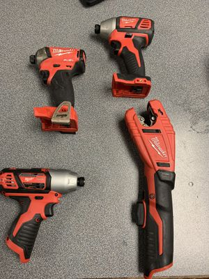 Milwaukee tools and jackets for Sale in Collins, GA