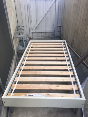 Twin size IKEA bed frame and mattress for Sale in Los Angeles, CA