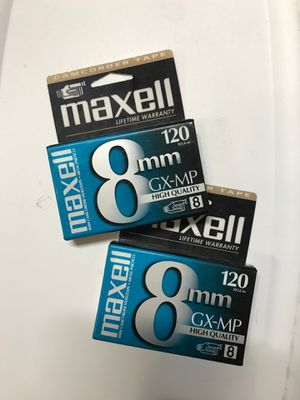 Maxwell Camcorder Video Tape for Sale in Costa Mesa, CA