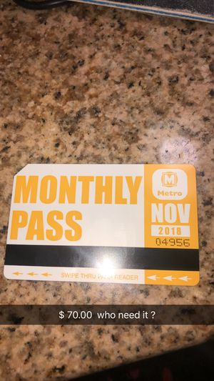 Bus pass for Sale in St. Louis, MO