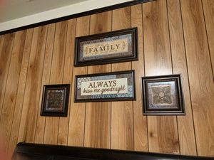4pc Wall decor for Sale in Long Beach, CA