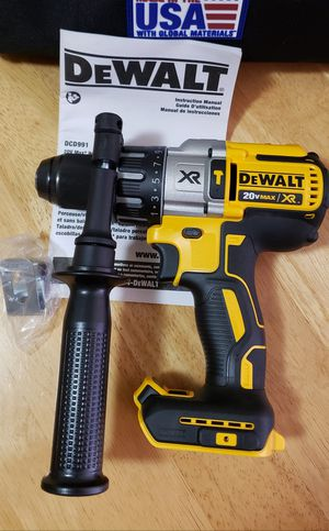 DEWALT 20-Volt MAX XR Lithium-Ion Cordless 1/2 in. Premium Brushless Hammer Drill (Tool-Only) for Sale in Garden Grove, CA