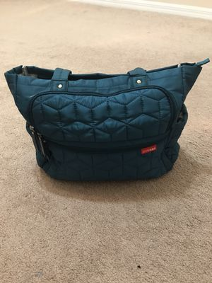 Baby stuff- diaper bag, baby carrier, Britax car seat, snuza baby monitor, lounger pillow for Sale in Melbourne Village, FL