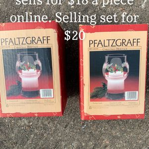 Pfaltzgraff Floating Candle Holders for Sale in Houston, TX