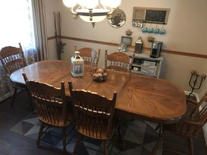 Kitchen Table w/ 6 Chairs $100 obo for Sale in Littleton, CO