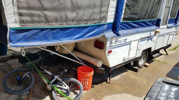 1999 Starcraft Starmaster camper pop up