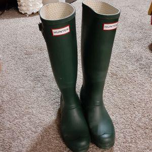 Hunter rain boots size 6M/7F for Sale in Bellevue, WA
