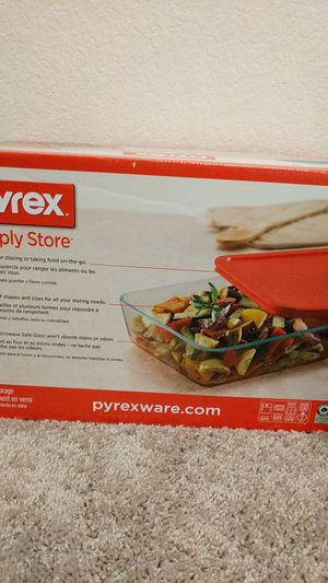 Pyrex glass storage solutions for Sale in Houston, TX