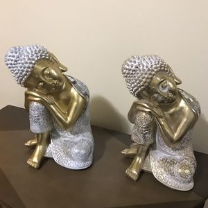 """Available Set Of Buddha 14"""" For$100 Both Or$50 Each Pick Up Gaithersburg Md20877 for Sale in Gaithersburg, MD"""