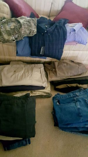 Big Men's Clothing $60/All for Sale in Charles Town, WV